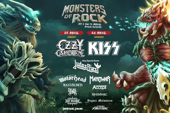 Monsters of Rock anuncia De La Tierra e Dr. Pheabes