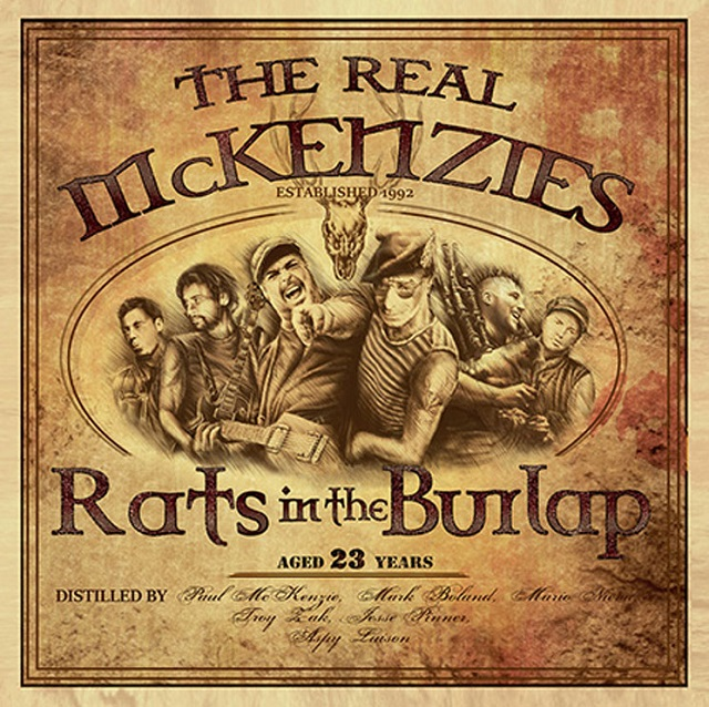 The Real McKenzies anuncia novo disco