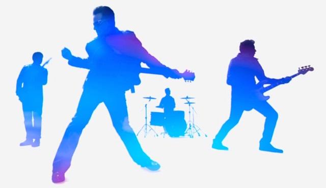 U2 foi o grupo mais escutado por usuários de iOS em Janeiro