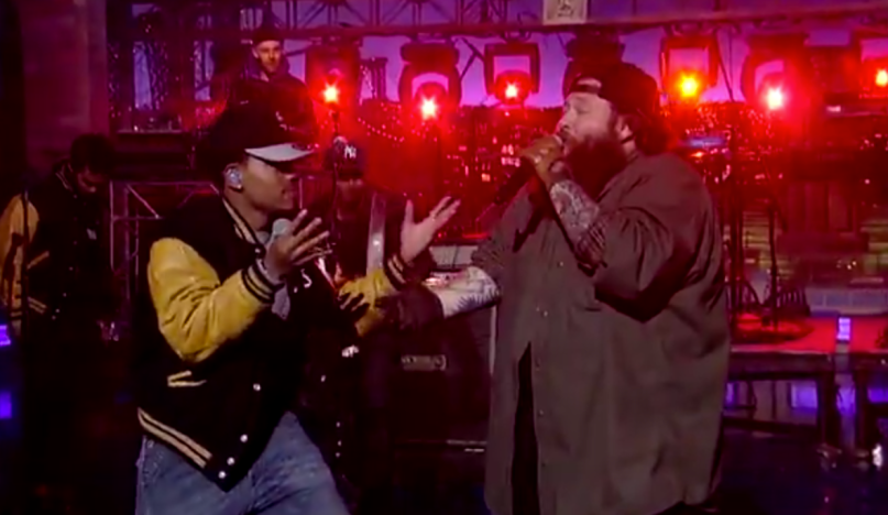 Action Bronson e Chance The Rapper se apresentam no David Letterman