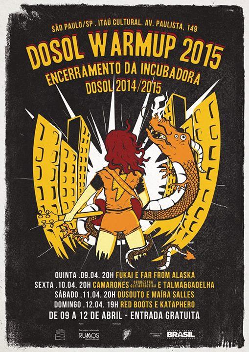 DoSol Warm Up 2015 tráz bandas potiguares para lançar discos em SP