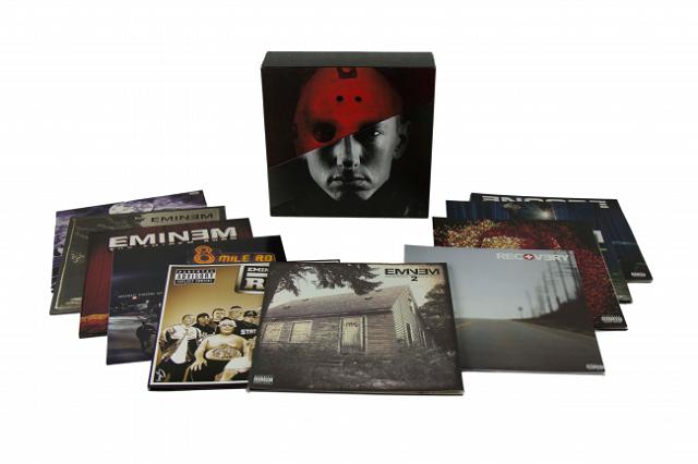 Eminem lança box com toda sua discografia em vinil