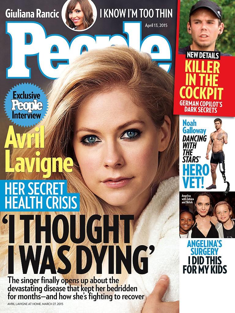 """""""Pensei que estava morrendo"""", conta Avril Lavigne em primeiro pronunciamento"""