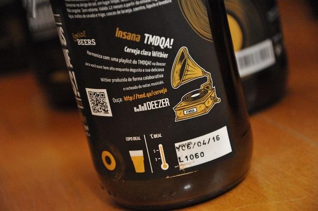 Cerveja do TMDQA! em parceria com Insana, Deezer e Social Beers