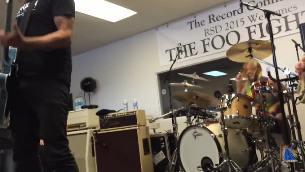 Show do Foo Fighters no Record Store Day 2015