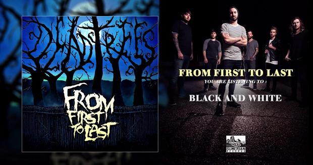 "From First To Last - ""Black And White"""