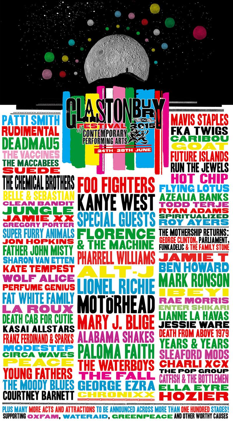 Primeiras bandas do festival Glastonbury 2015 são anunciadas
