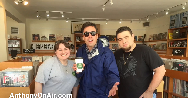 Jimmy Fallon no Record Store Day
