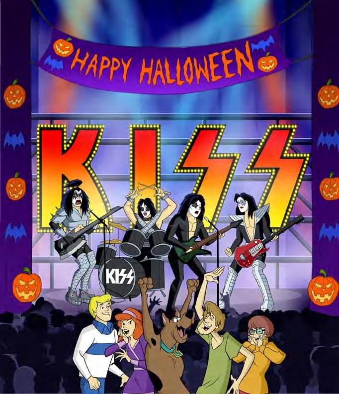 """Próximo filme do """"Scooby-Doo"""" traz mistério do rock com participação do Kiss"""
