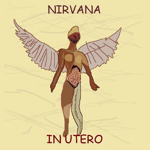 Nirvana - In Utero (capas mal desenhadas)