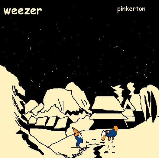 Weezer - Pinkerton (capas mal desenhadas)