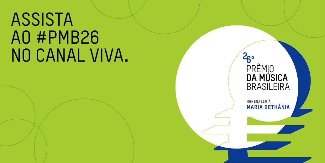 26º Prêmio da Música Brasileira acontece nesta quarta; veja os indicados