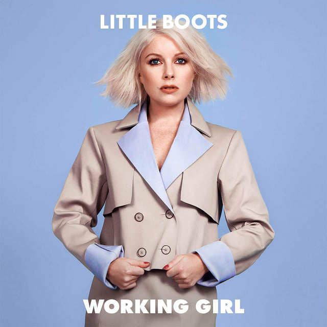 Capa de Working Girl, novo disco da Little Boots