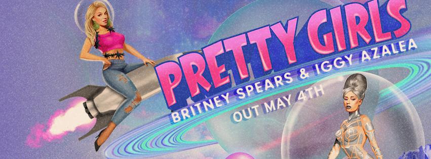 """Ouça a nova """"Pretty Girls"""", parceria de Britney Spears com Iggy Azalea"""