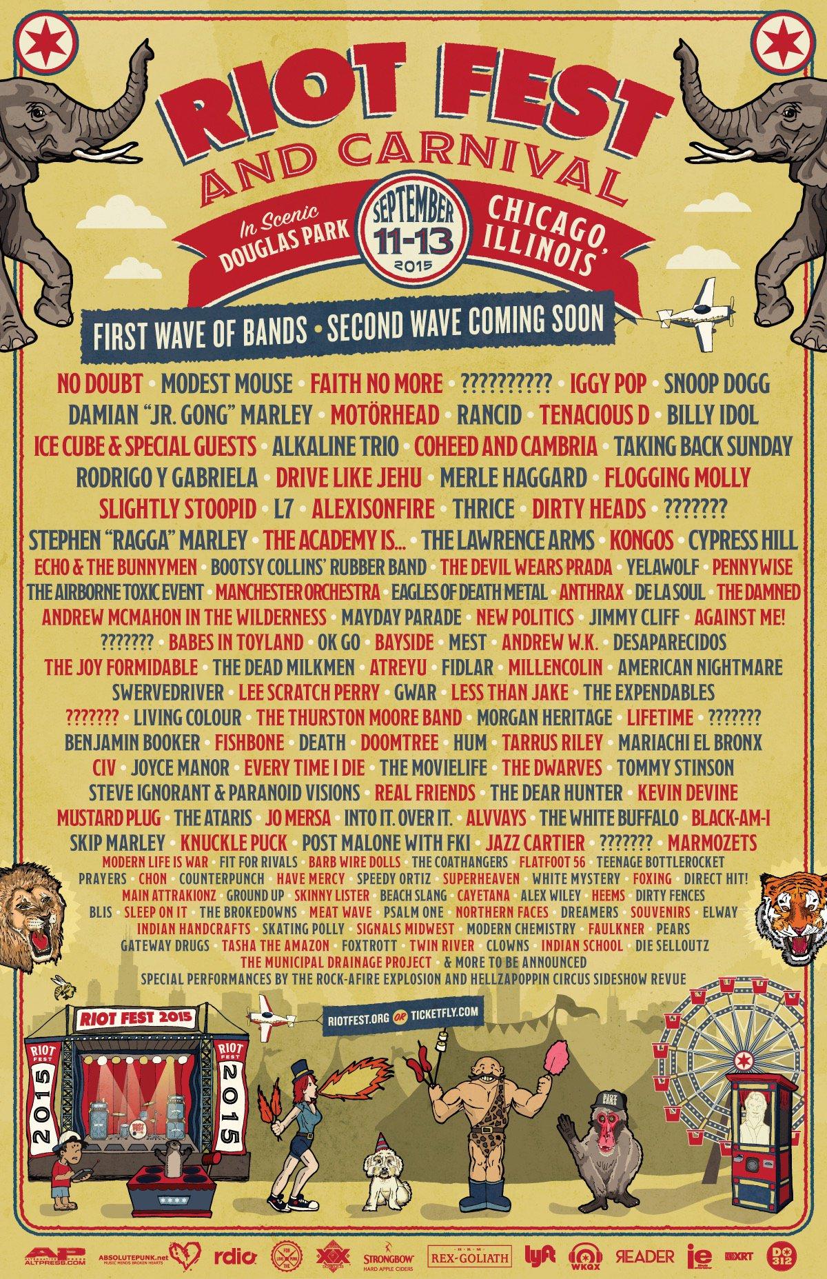 Riot Fest 2015 - Chicago