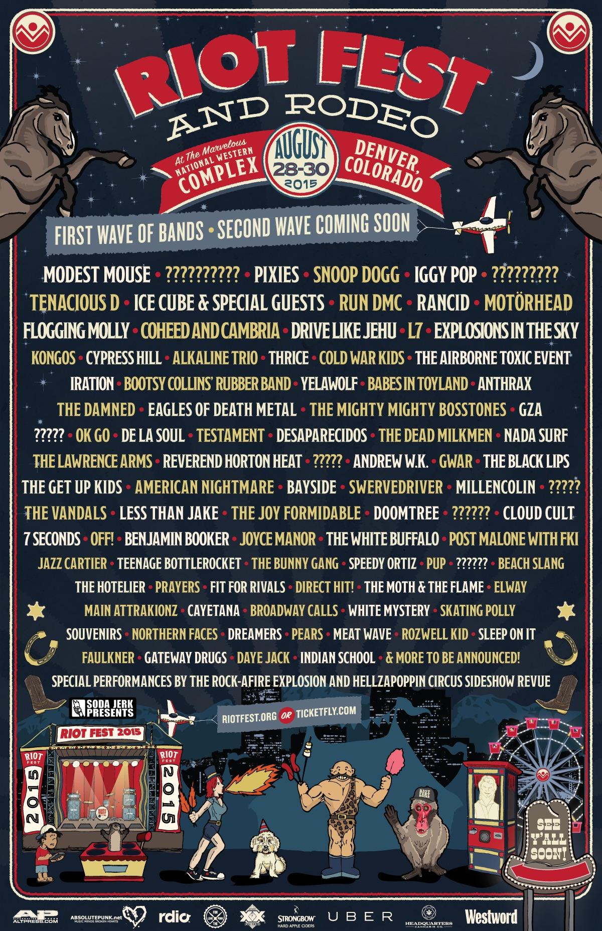 Riot Fest 2015 - Denver