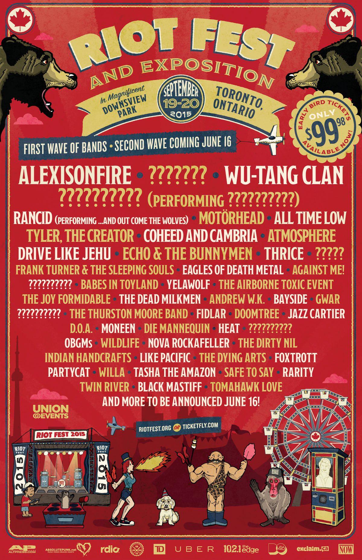 Riot Fest - Toronto 2015