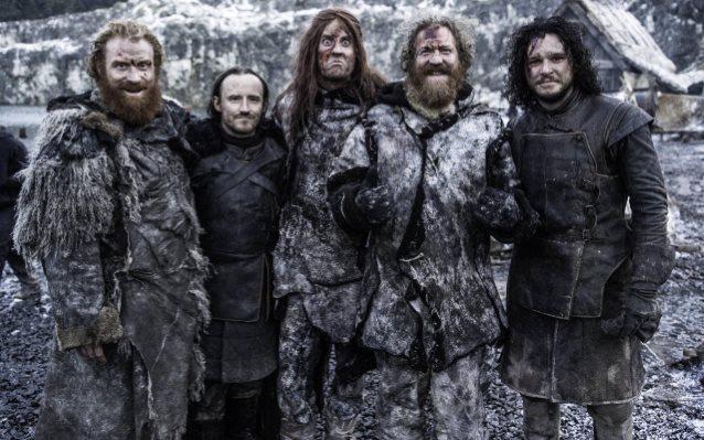 Mastodon no set de Game of Thrones