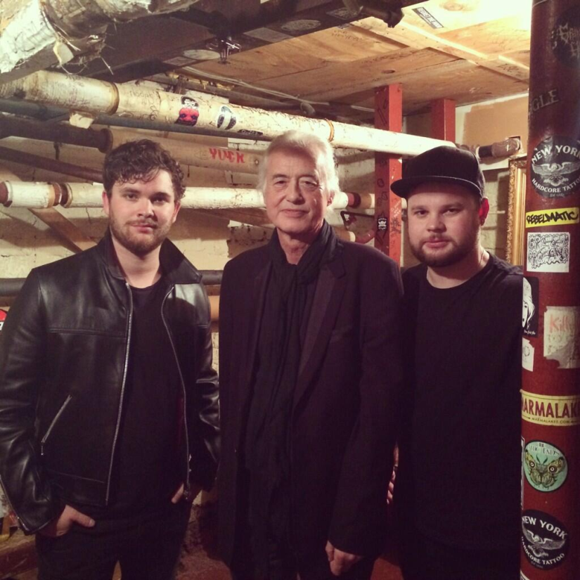 Royal Blood e Jimmy Page