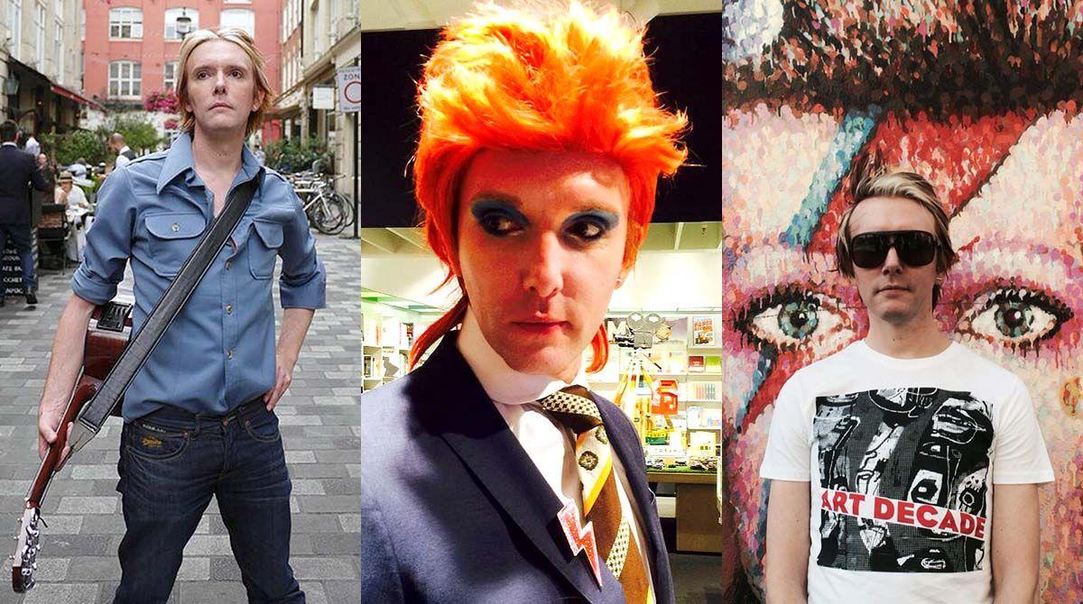 Professor passa um ano se vestindo como David Bowie para pesquisa