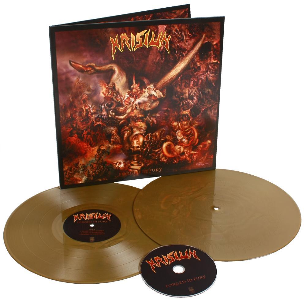 krisiun forged in fury vinyl LP