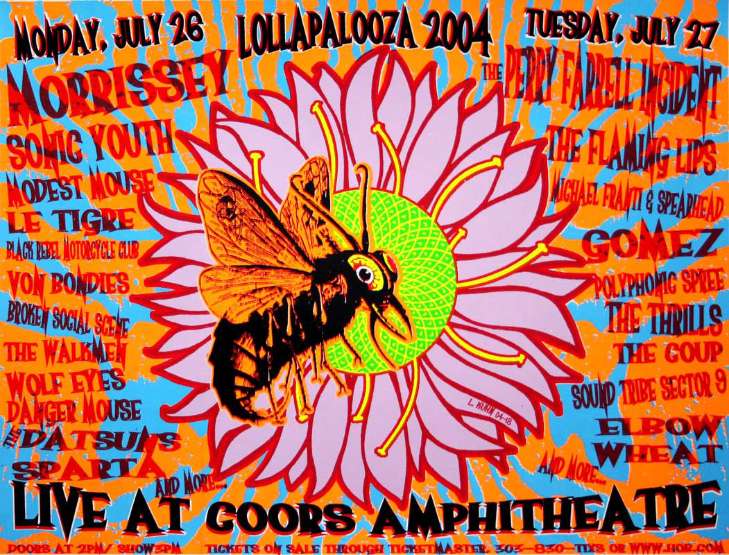 Lollapalooza foi cancelado em 2004