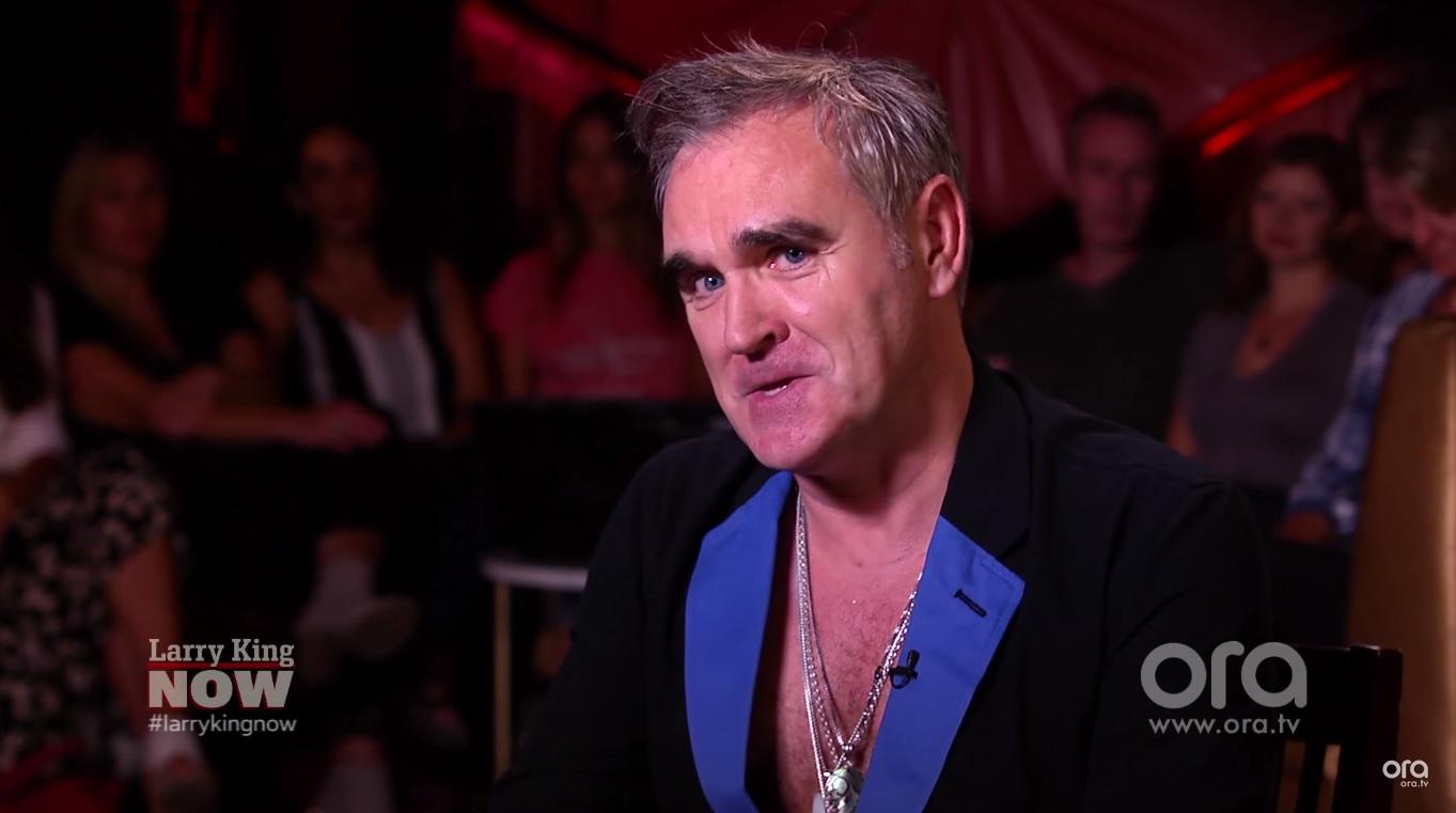 Morrissey participa de programa de TV - assista