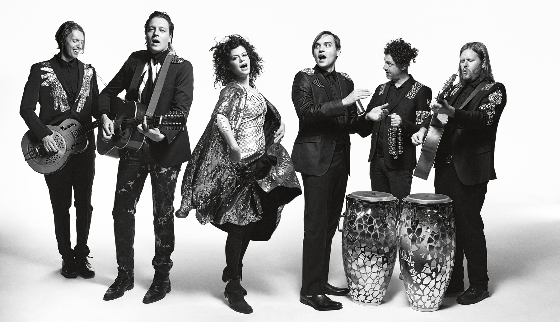 "Arcade Fire grava ""Afterlife"" com James Murphy"