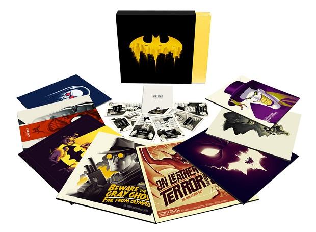 Trilhas dos desenhos de Superman e Batman são lançadas em vinil