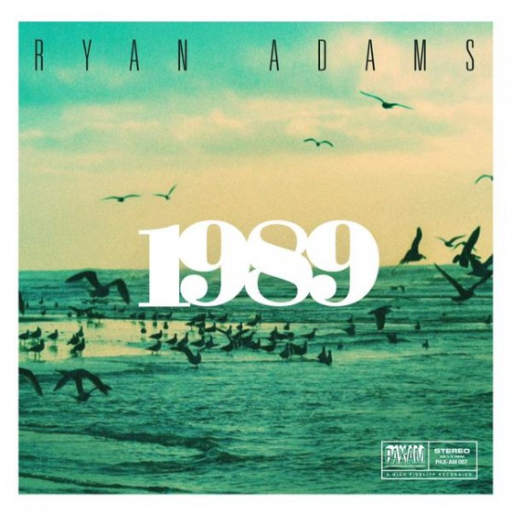 Ryan Adams - 1989 (capa)