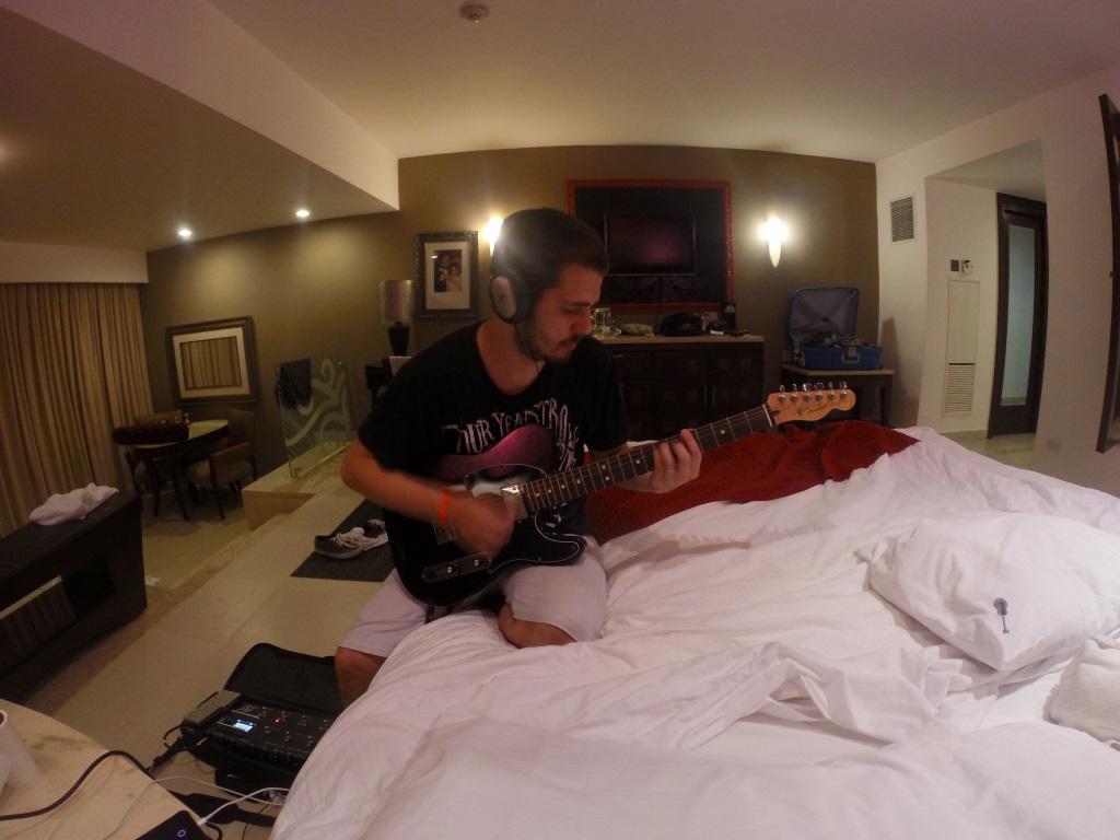 Guitarra no Hard Rock Punta Cana