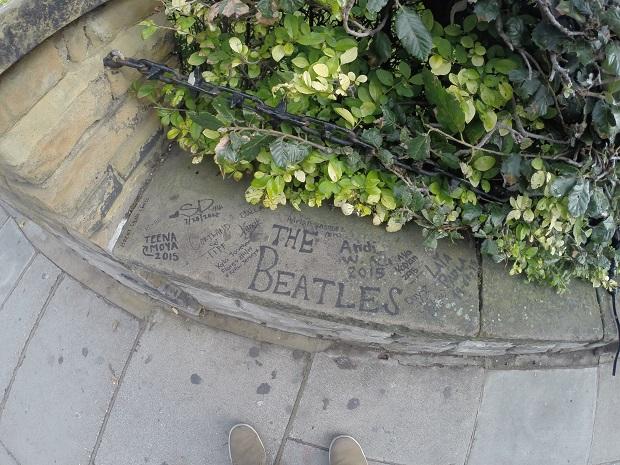 Homenagens aos Beatles em Abbey Road