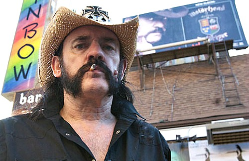 Lemmy Kilmister no Rainbow Bar & Grill