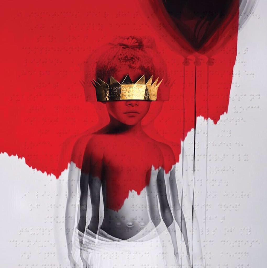 Capa de Anti, novo disco de Rihanna