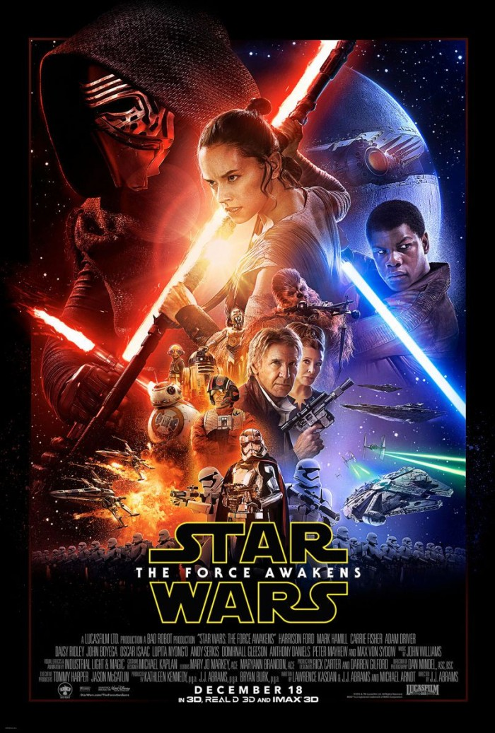 Veja o pôster oficial de Star Wars: The Force Awakens