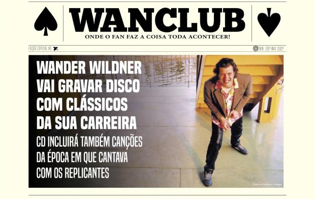 Wander Wildner lança campanha de financiamento colaborativo