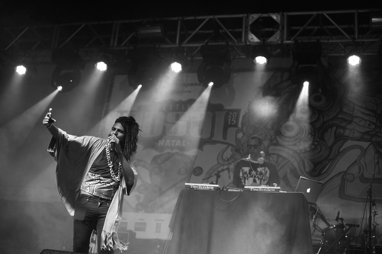 Rico Dalasam no Festival Dosol 2015