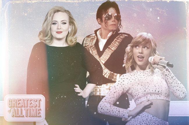 Billboard: os maiores de todos os tempos