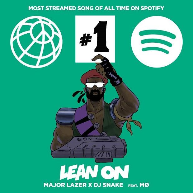 Música de Major Lazer é a mais ouvida de todos os tempos no Spotify