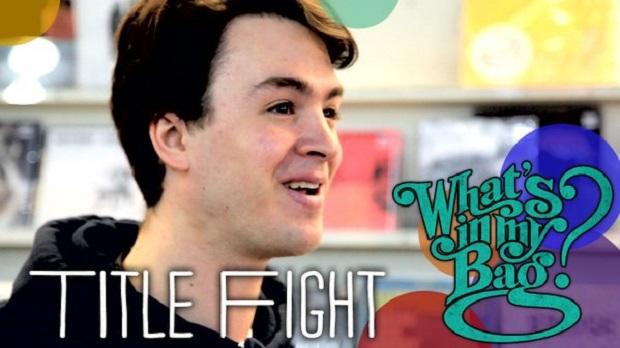 Ned Russin (Title Fight) vai a loja de discos e mostra suas compras