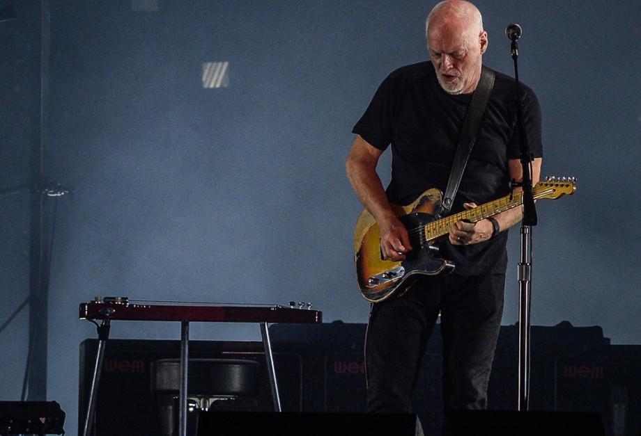 David Gilmour em São Paulo