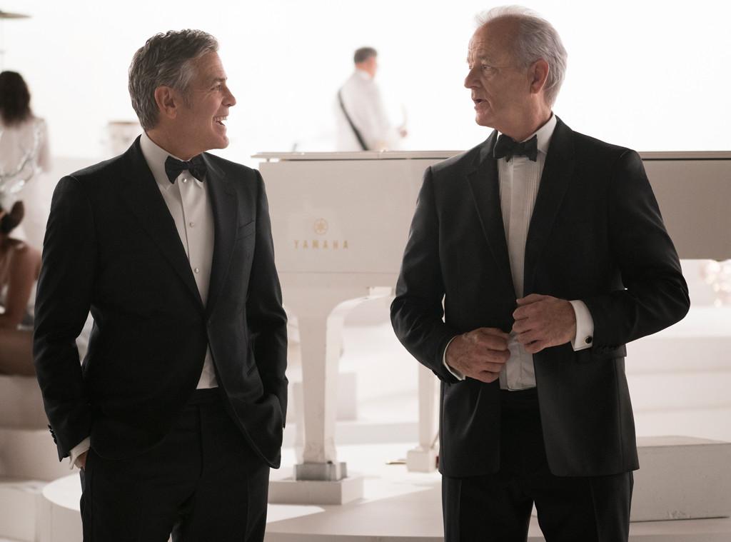 George Clooney e Bill Murray cantam em especial de Natal