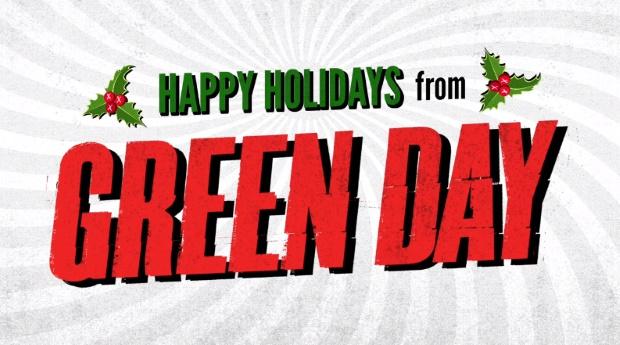 Green Day lança música de Natal