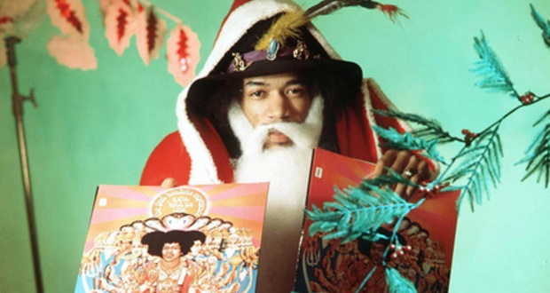 Jimi Hendrix no Natal