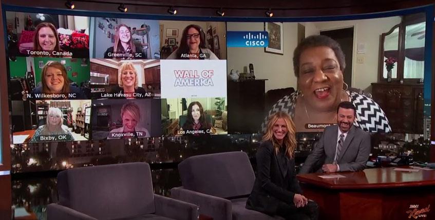 Julia Roberts conhece outras 9 Julia Roberts na TV