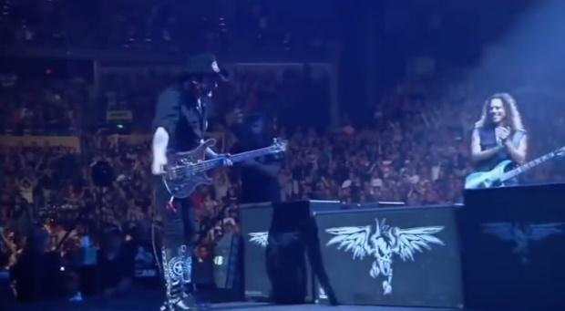 Lemmy com o Metallica