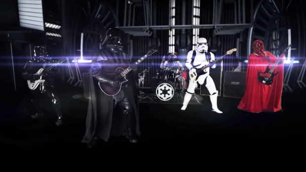 Galactic Empire: banda faz cover do tema de Star Wars