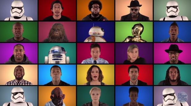 Star Wars: elenco canta música da saga com Jimmy Fallon