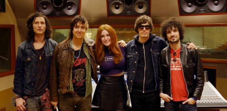 The Strokes em estúdio