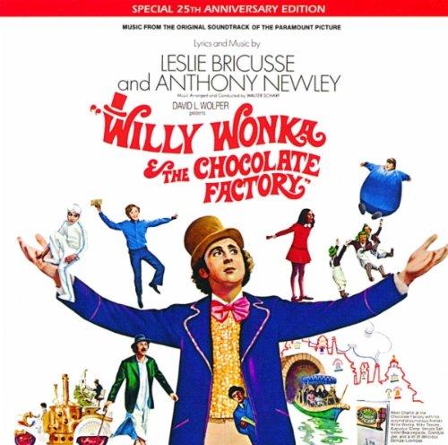 Trilha original de A Fantástica Fábrica de Chocolate será relançada em vinil